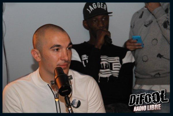 Maska, Black M et Dr Berize en live dans la Radio Libre