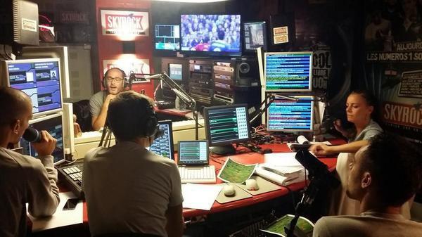 Toute l'équipe de la Radio Libre de Difool en mode France-Espagne !