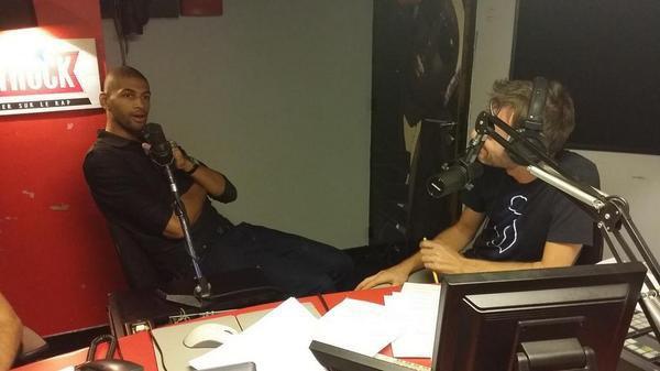 Nicloas Batum était avec nous ce soir dans la Radio Libre !