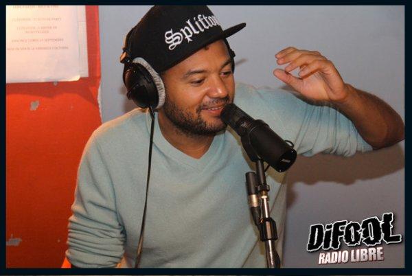 Fabrice Eboué dans la Radio Libre de Difool !