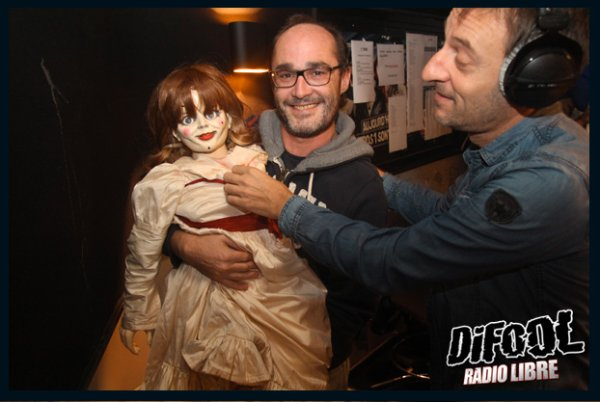 La poupée ANNABELLE dans la Radio Libre !