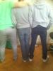 Voici les culs des membres du morning #Karim #Romano #Difool