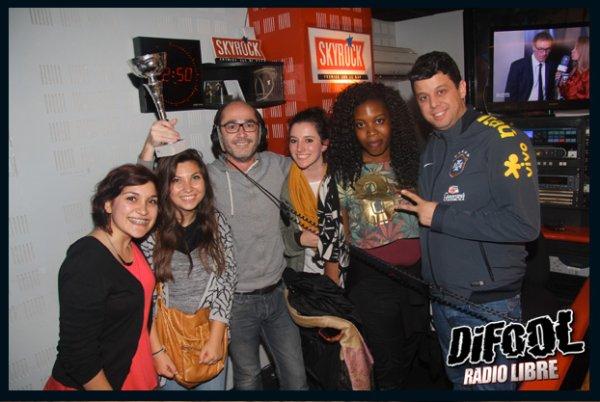 Romano en compagnie de Cédric et la Team Cris Cab !