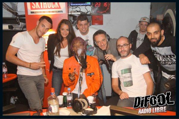 Wiz Khalifa dans la Radio Libre de Difool !