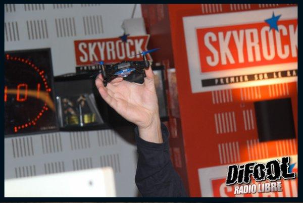 Gagne ton drone dans la Radio Libre de Difool !