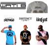 Difool veut vous filer des t-shirt avec les marques des artistes, dès la semaine prochaine! Vous voulez quelles marques ? :)
