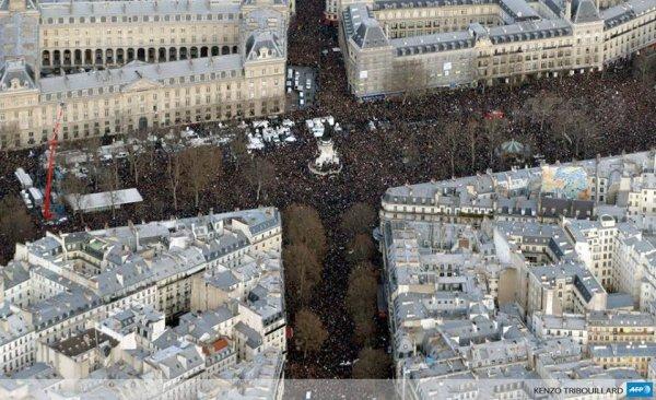 Incroyable mobilisation à Paris !