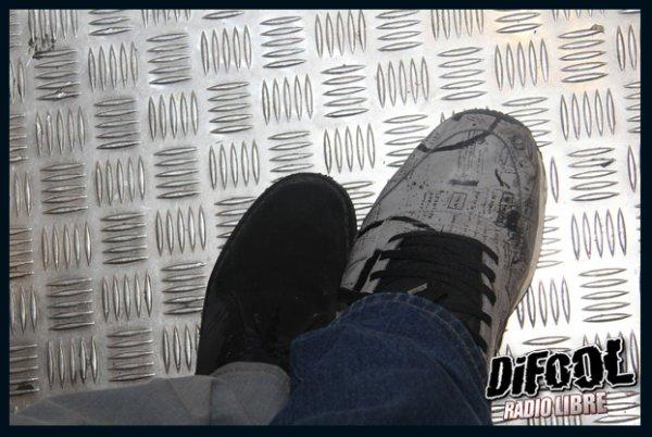 Différence de taille dans la Radio Libre de Difool, Momo 50, Romano 39 !