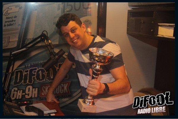 Bravo Cédric qui remporte sa première victoire au Clash de la Drague !