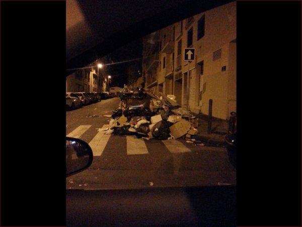 La grève des éboueurs à Marseille !