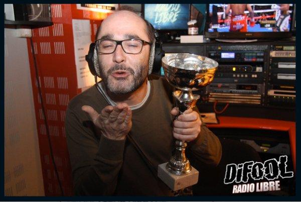 Romano après sa victoire au Clash de la Drague !