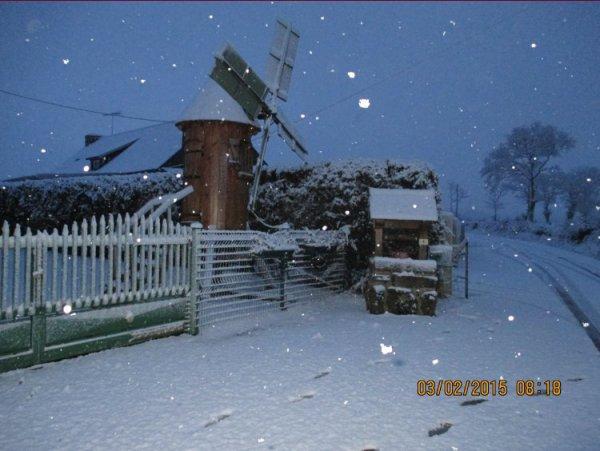 La France sous la neige !