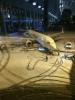 Un magnifique sexe dessiné au pied d'un avion Ryanair