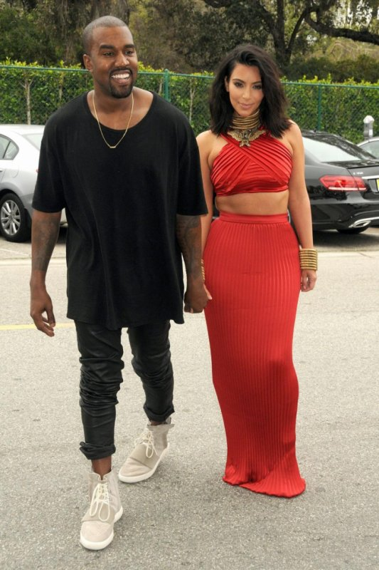 Kim et Kanye avant les Grammy Awards ce weekend !