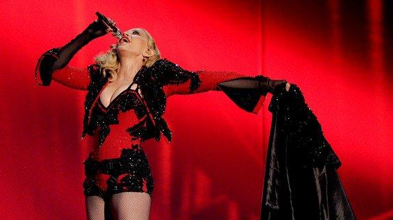 La tenue de Madonna pendant les Grammy's