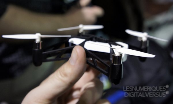Le drone de Romano !