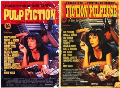 Les affiches de film en Québécois