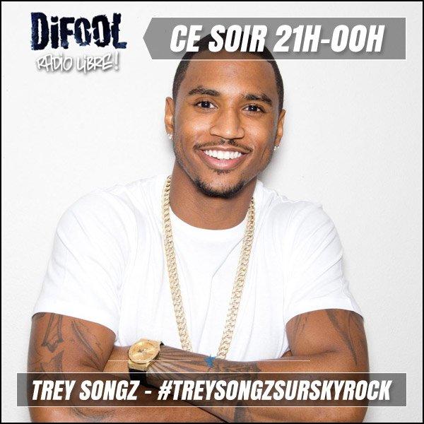 TREY SONGZ ce soir dans la Radio Libre