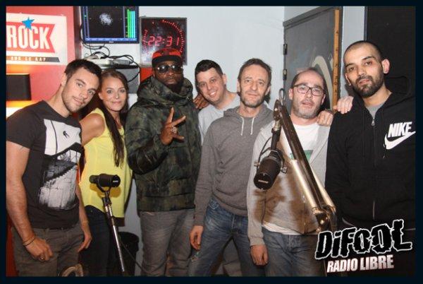 Kaaris dans la Radio Libre de Difool !