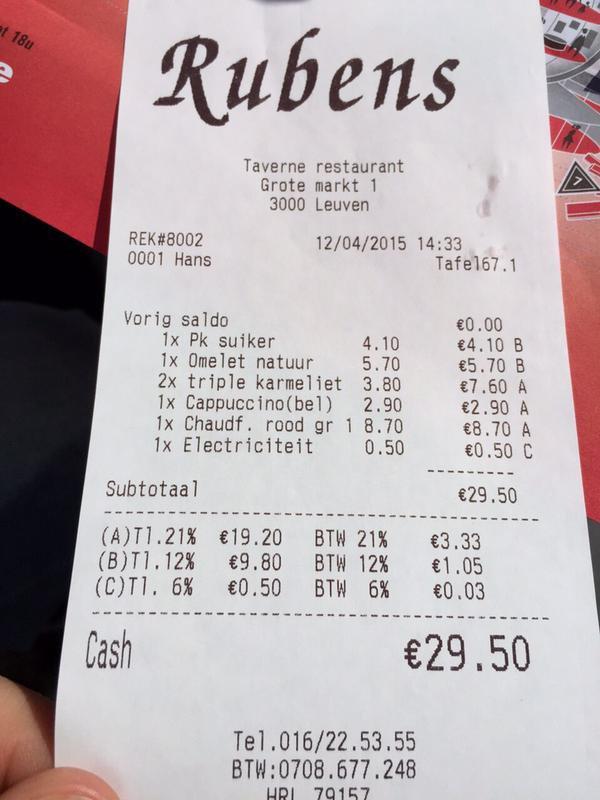 50 centimes pour faire réchauffer un biberon dans une brasserie !