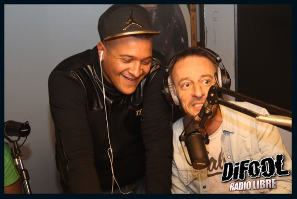 Dj Hamida dans la Radio Libre de Difool