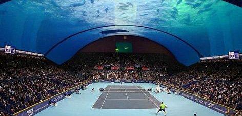 Le prochain tournoi de Tennis à Dubaï : sous l'eau