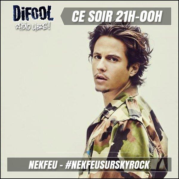 Difool reçoit Nekfeu ce soir dès 21h