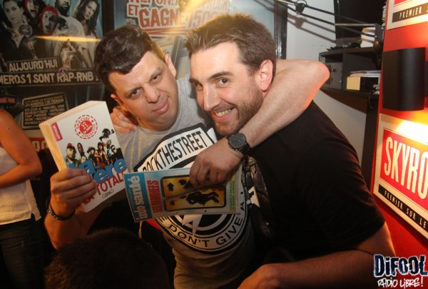 Les cadeaux de Callagan pour les membres de la Radio libre !