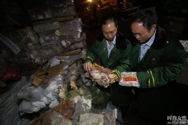 Les autorités chinoises saisissent 100.000 tonnes de viande congelée et périmée depuis plus de 40 ans !