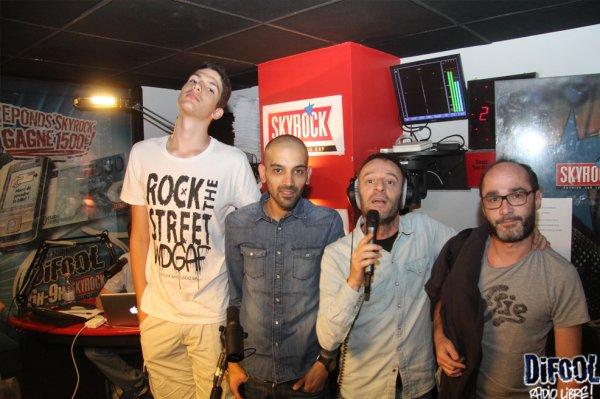 Les daltons dans la Radio Libre de Difool !