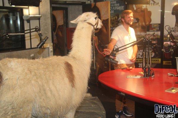 Blanche Neige dans la Radio Libre de Difool !