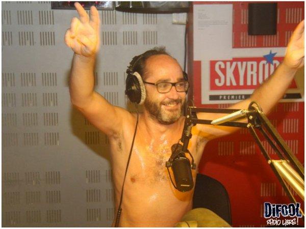 Romano a vraiment chaud dans la Radio Libre !