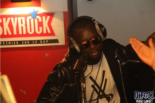 Maitre Gims dans la Radio Libre de Difool !