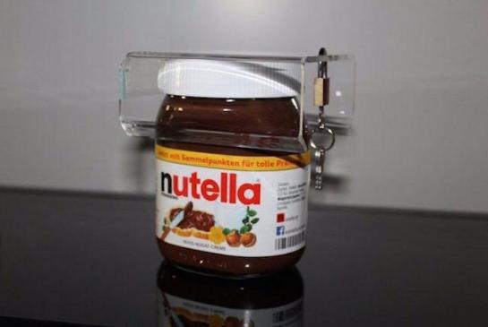 Le cadenas spécial Nutella !