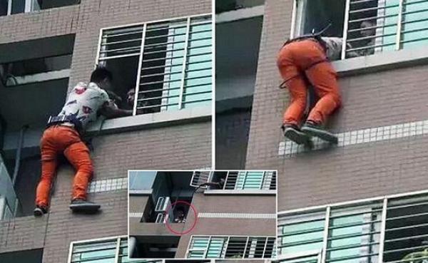 Le mari rentre plus tôt que prévu, l'amant passe la nuit sur le rebord de la fenêtre !