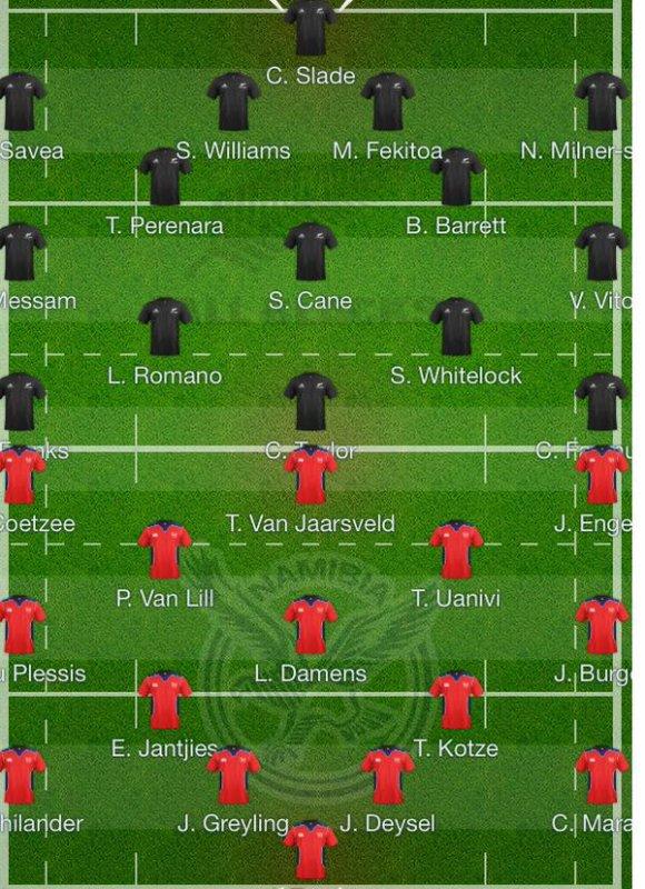 Romano joue au rugby avec la Nouvelle Zélande mdr !