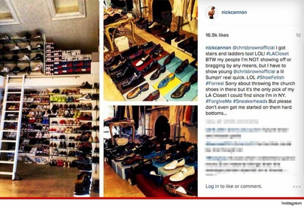 Les collections de baskets de Chris Brown, Nick Canon et DJ Khaled!