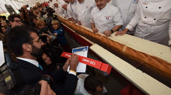 La baguette la plus longue du monde !