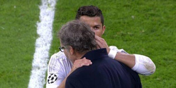 Cristiano Ronaldo a parlé à Laurent Blanc !