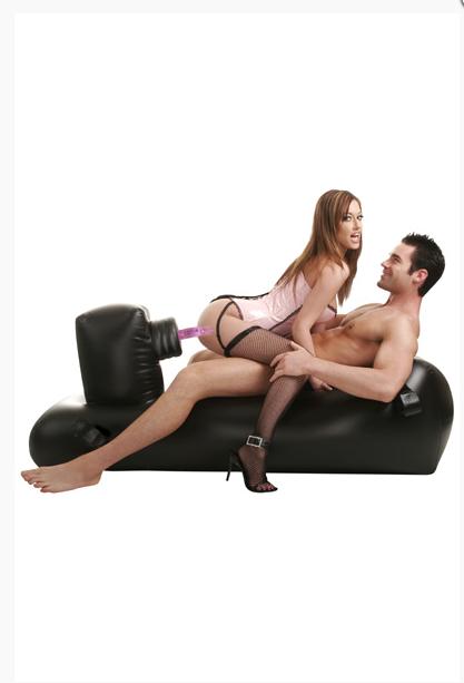 Le fauteuil Gonflable Sex Machine dont on parlait dans le problème du mois ! Putain on dirait pas que c'est confortable mdrr