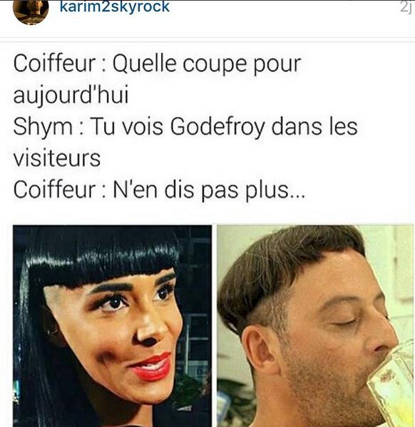 Le Karim Comedy Club demande à Shym de changer de coiffeur ! Mdrr