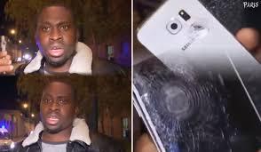 Il a été sauvé par son téléphone portable !