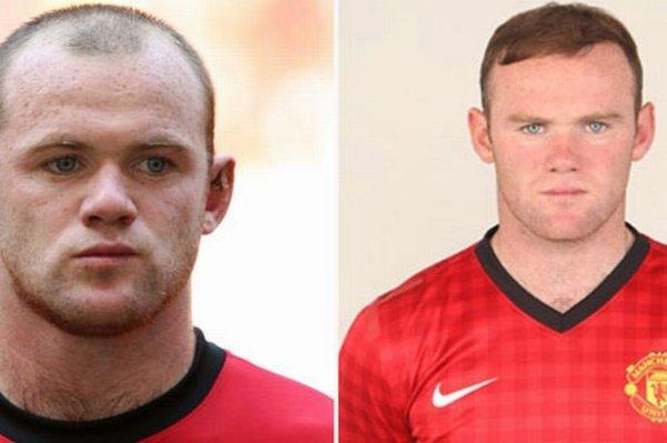 Rooney avant / après !