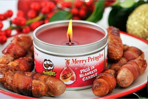 Pringles lance des bougies parfumées aux chips aromatisées !