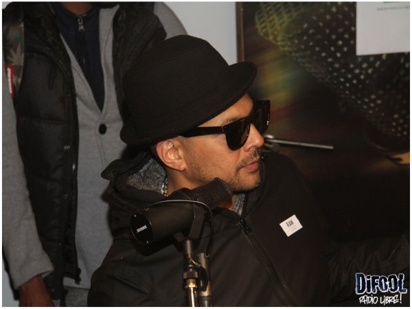 La visite surprise de Sean Paul dans la Radio Libre de Difool !