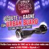 Qui veut son Urbanboard de la marque Urban-Wake?? Difool en offre ce soir !