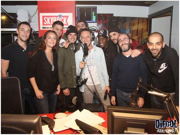 Casseurs Flowters dans la Radio Libre de Difool !