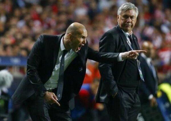 Zinédine Zidane nouvel entraîneur du Real Madrid !