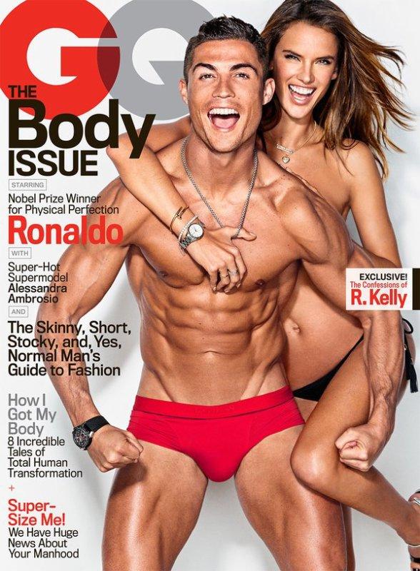 Cristiano Ronaldo en slip pour la couverture du magasine GQ !