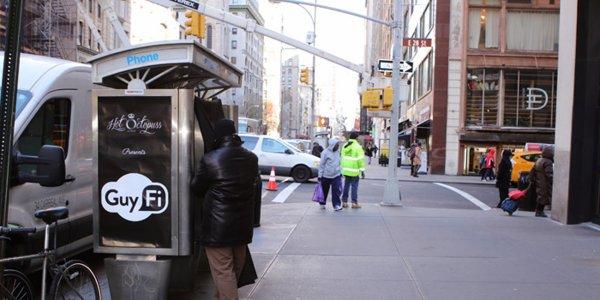 Des cabines de masturbation dans les rues de New York !